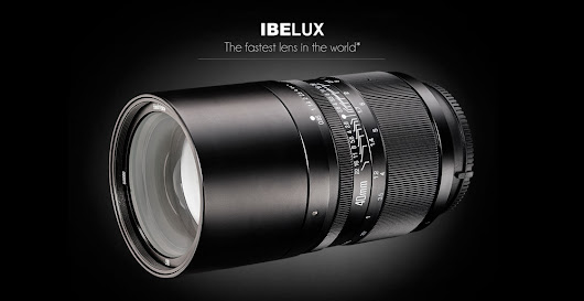 Announcing The World's Fastest Lens - IBELUX 40mm f0.85