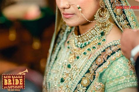 Spotted so far on Band Baaja Bride season 5: Teal, Gold