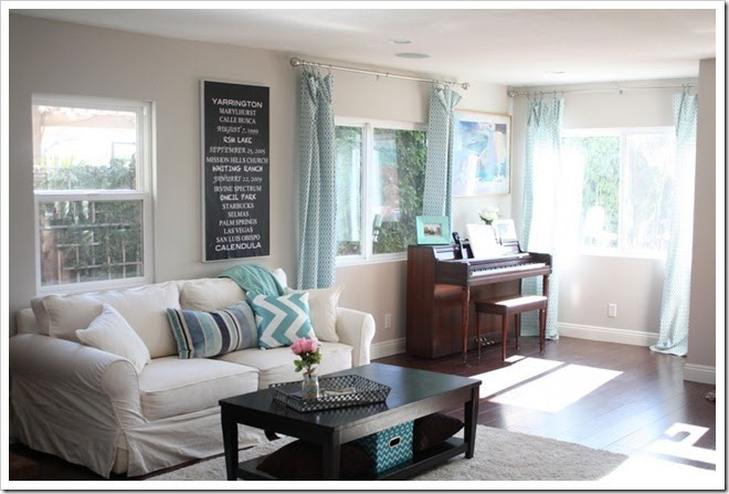 (via A Thoughtful Place: Family Room Before & After)