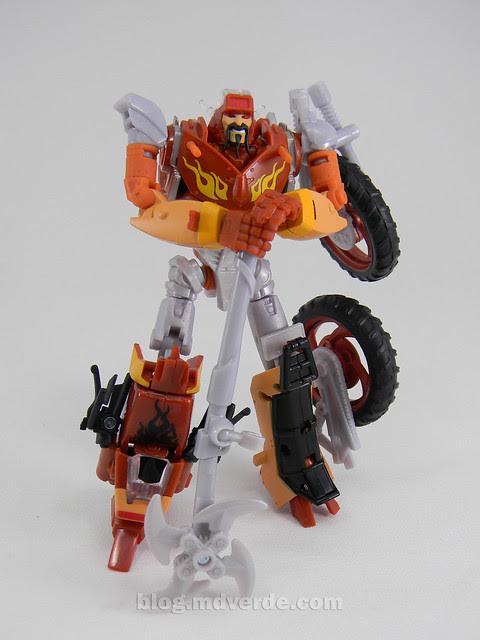 Transformers Wreck-Gar Reveal the Shield Deluxe - modo robot