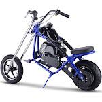 MotoTec MT MC Blue 49cc Gas Mini Chopper Blue