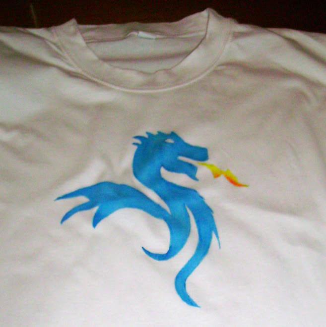 T-shirt Dragão