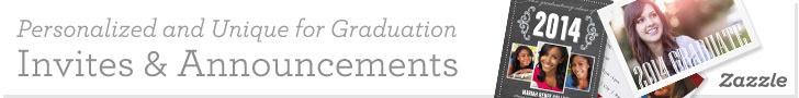 Personalized Graduation Invites & Announcements