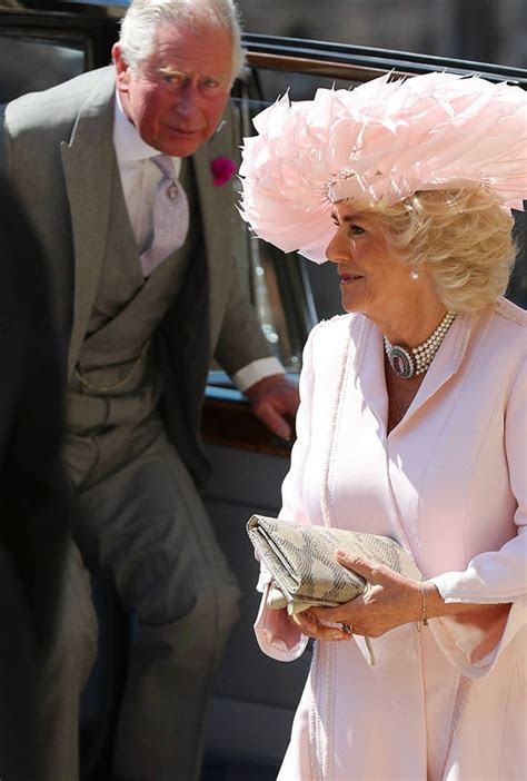 Camilla Duchess of Cornwall Royal Wedding: Royal looks