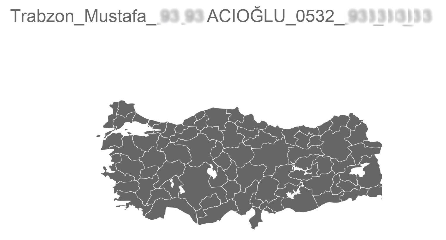 Html5 Svg Türkiye Haritası