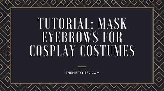 How to Mask Eyebrows for Characters with No Eyebrows