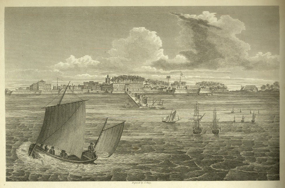 View of Bombay in 1773