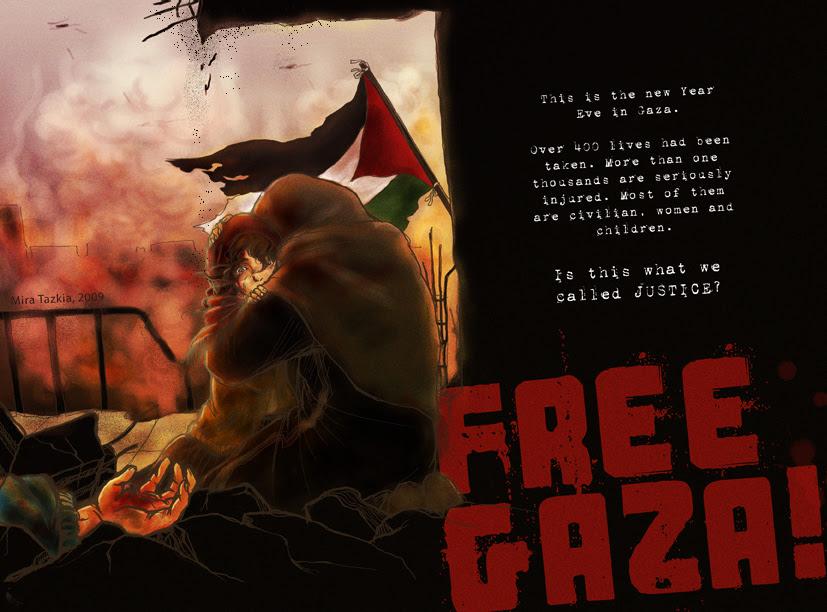 Membiarkan Gaza, apakah itu satu kebenaran? ~ Picture by sorcererssmyr of Deviant Art