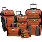 Traveler's Choice Amsterdam II 8-piece Luggage Set by Luggage Pros