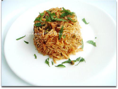 Mushroom Ajwain Rice