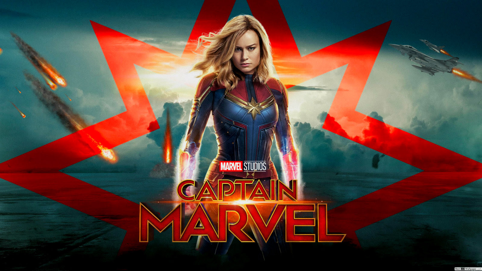 Captain Marvel Fond Ecran