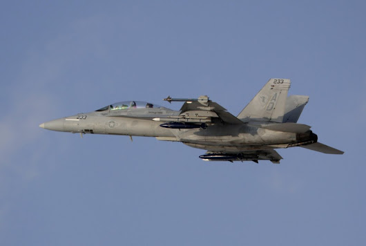 U.S. Navy jet crashes into ocean off the Virginia coast