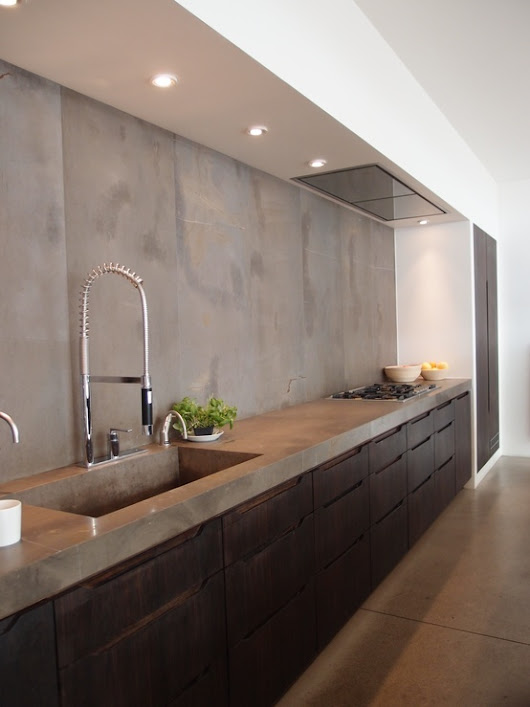 Stylish Home Countertops: All About Concrete Beauty - Kaodim