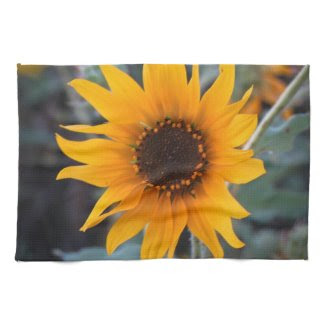 Golden Sunflower Kitchen Towels