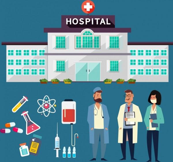 86 Gambar Animasi Gedung Rumah Sakit HD Terbaru