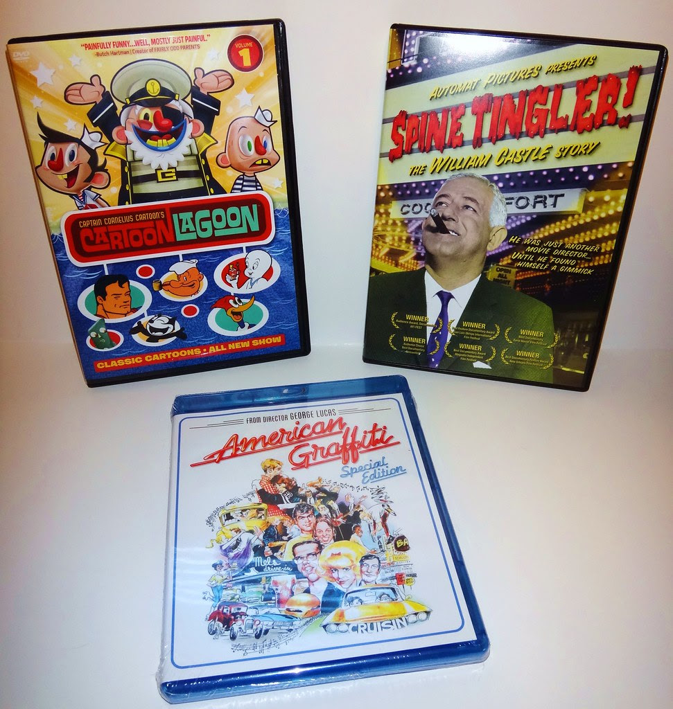 cartoon lagoon spine tingler william castle american graffiti dvd