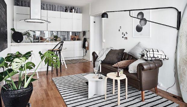 Αυτό το Διαμέρισμα 49 τ.μ. στη Σουηδία Αποδεικνύει πως το Μόνο που Χρειάζεστε Είναι Στιλ και Φαντασία