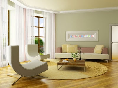 Light-Green-Living-Room - Minneapolis Painting Company