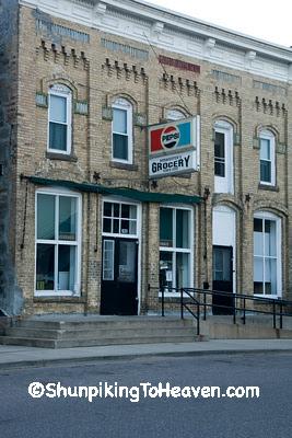 Burmester's Grocery Store, Loganville, Sauk County, Wisconsin
