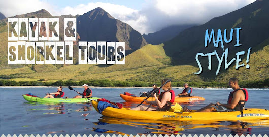 Kayak and Snorkel Tours Maui Style - Kelii's Kayak Tours