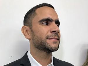 Eduardo Carvalho (Foto: Paulo Ricardo Sobral/TV Grande Rio)
