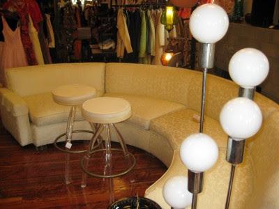 Round Vintage Sofa