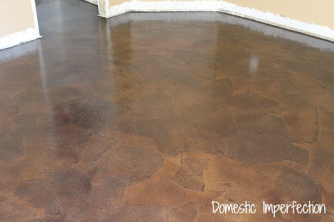 Paper Flooring - a tutorial by Domestic Imperfection