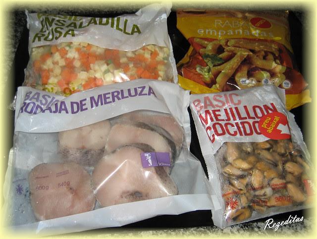 merluza con verduras y salsa de estragón