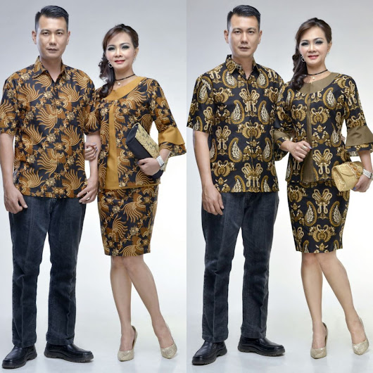 Baju Batik Couple Modern Haneda Series
