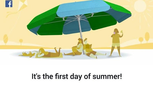 Brits Are Mad Because Facebook Told Them It's Summer