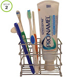 Stainless Steel Toothbrush Holder Evelots