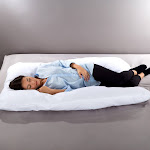 Lavish Home AM901064 Full Body 7 in. 1 Jumbo Pillow with Removeable Cover