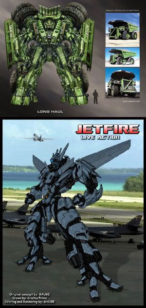 Long Haul and Jetfire.