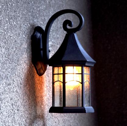 Lampu Tiang Teras Rumah Minimalis Icon Rumah