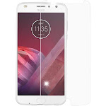 Valor Clear Tempered Glass Screen Protector Film for Motorola Moto Z2 Force/Z2 Play