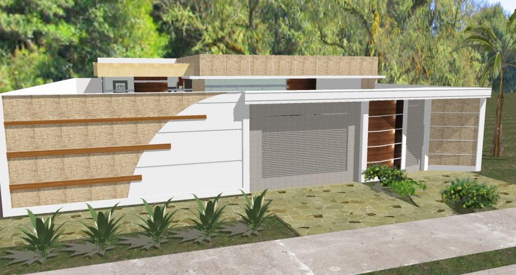 Mestredeobraaristaquebarros 49 modelos de muros e for Casa moderna ud