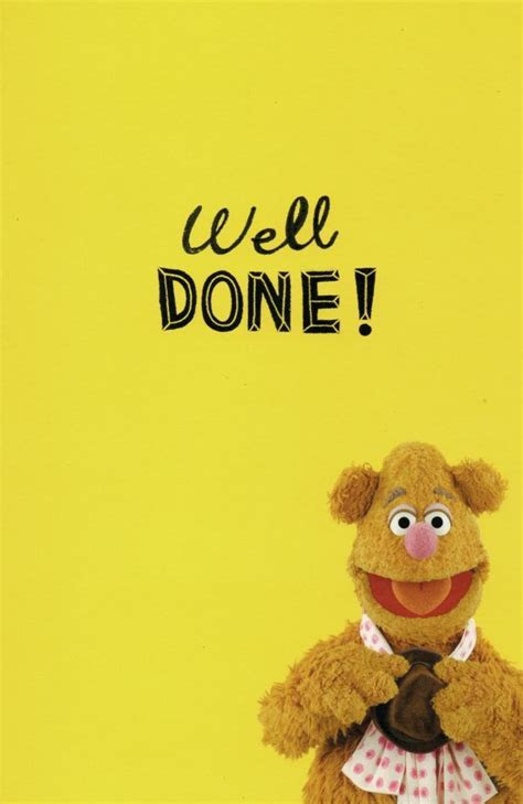 Fozzie Bear Hats Off Congratulations Card   Cards   Love Kates
