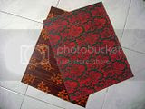 placemat mendong warna