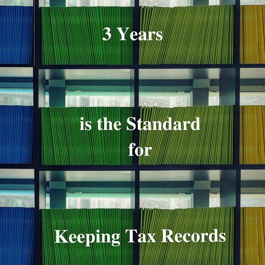 3 Reasons to Keep Tax Records!
