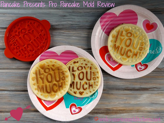 Pancake Presents Pro Pancake Mold Review - Welcome to My Kitchen