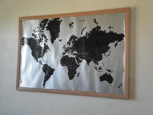 cork board pin map
