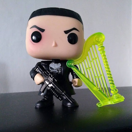 Funko Pop Jonny and his harp - The Punisher Harp Zone