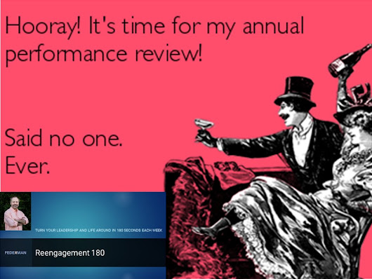 Reengagement 180 Podcast #8 – Reviewing Performance Reviews