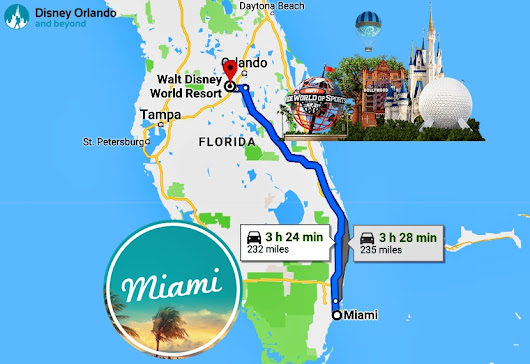 Florida Trip | How far is Disney World from Miami? - Disney Orlando And Beyond