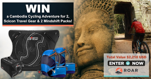 WIN a cycling adventure tour for 2 in Cambodia!