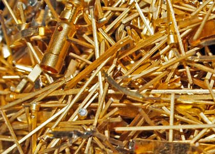 Sell Gold Plated Pins and Gold Scrap - Sell Platinum Scrap - Palladium Scrap Buyers - Sell Jewelers Scrap - Sell Dental Lab Dust - Silver Scrap and Flake Buyers