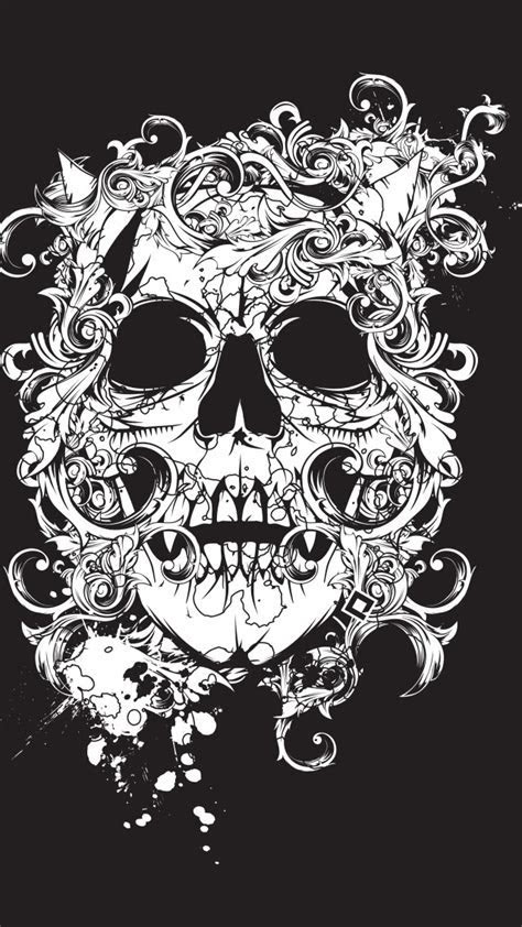 ???? ?????, ???????, ?????, ????, scull, black, tatto