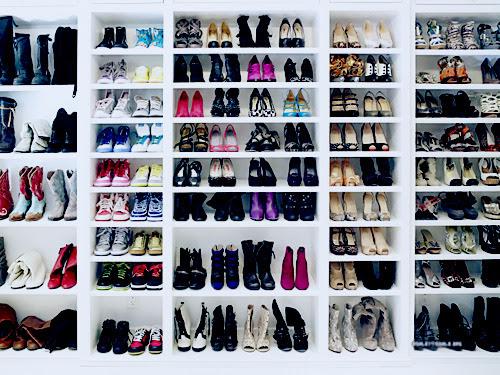 Hasil carian imej untuk tumblr picture shoes racks