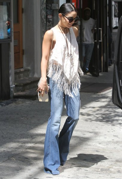 Vanessa Hudgens Steps Out In New York