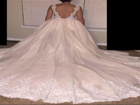 Galia Lahav AURORA Dress with CRYSTAL Skirt, $2,900 Size